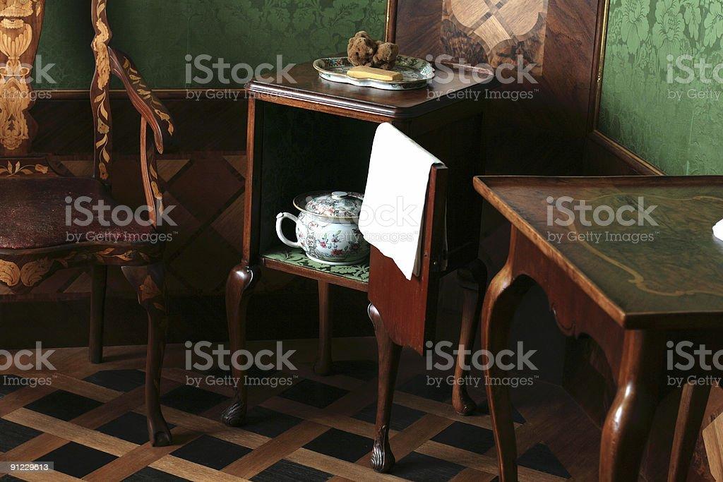 Chambre-pot photo libre de droits