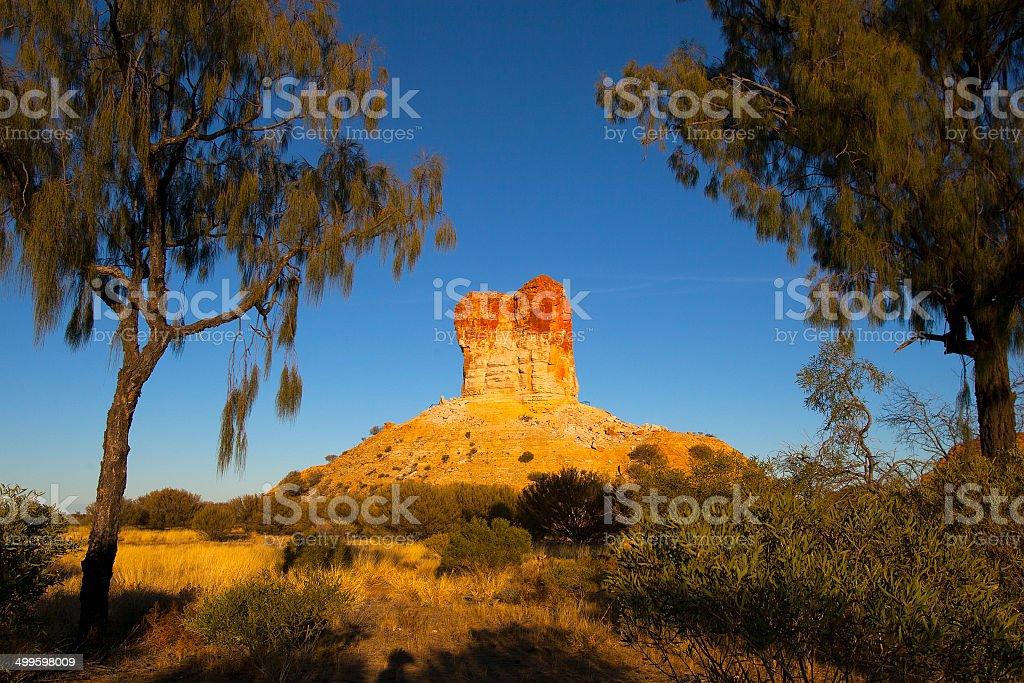 Chambers Pillar, Alice Springs, Australia royalty-free stock photo