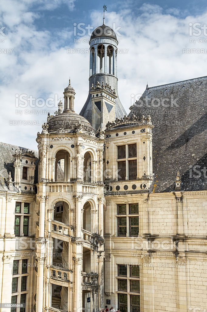 Chambord Castle - Loire - France stock photo