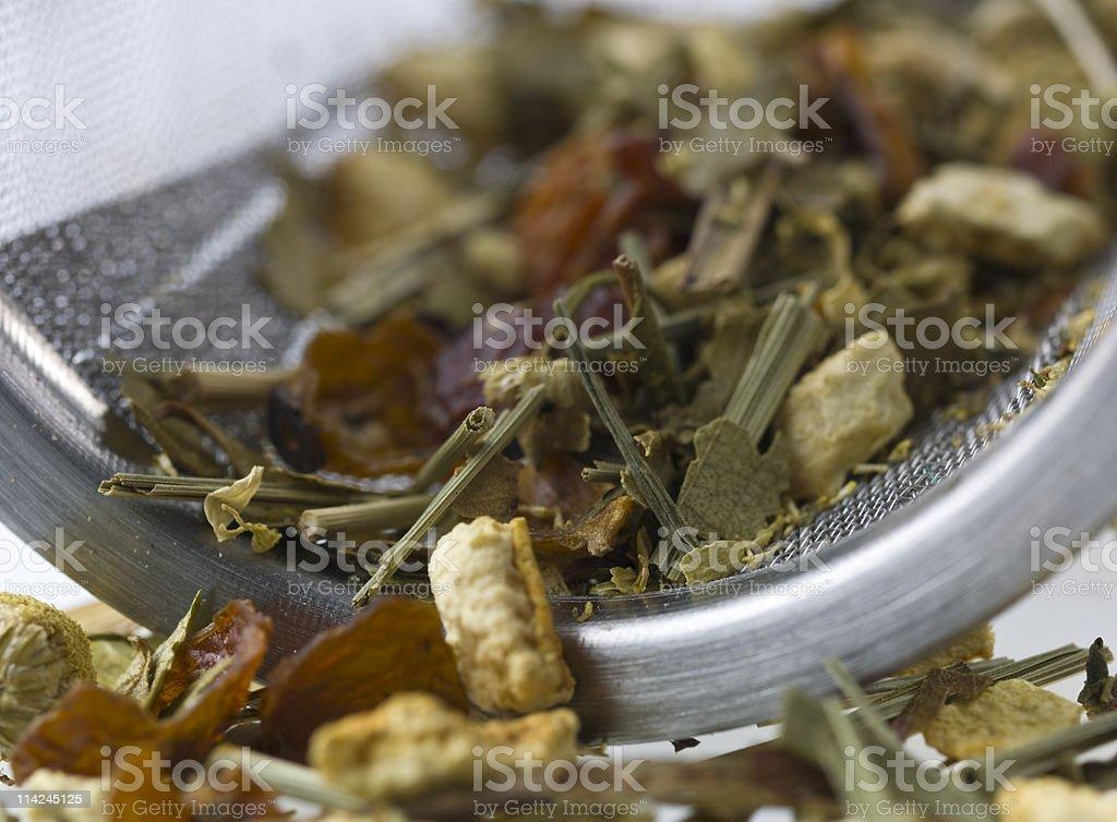 Chamomile Citrus Tea stock photo