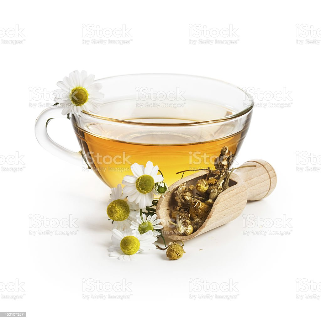 Chamomile Tea stock photo