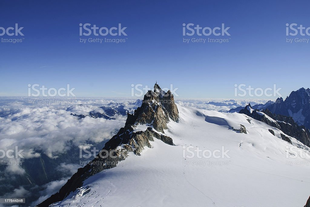 Chamonix, Mont-Blanc stock photo