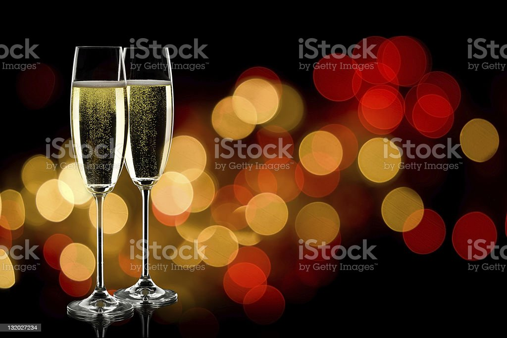 champage glasses royalty-free stock photo