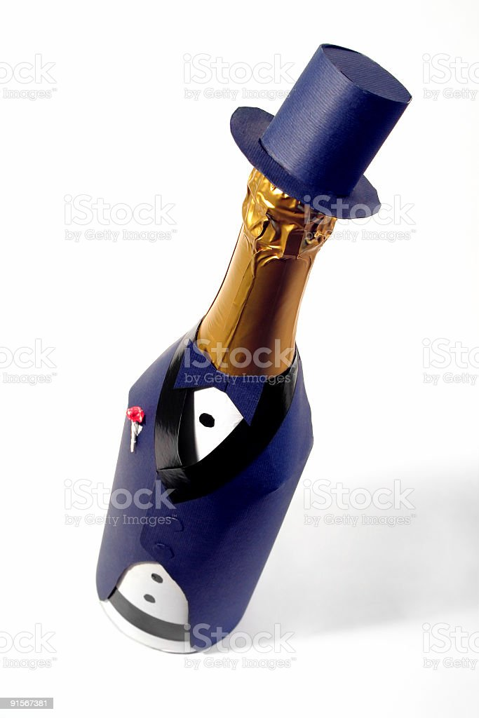 champagne 1 stock photo