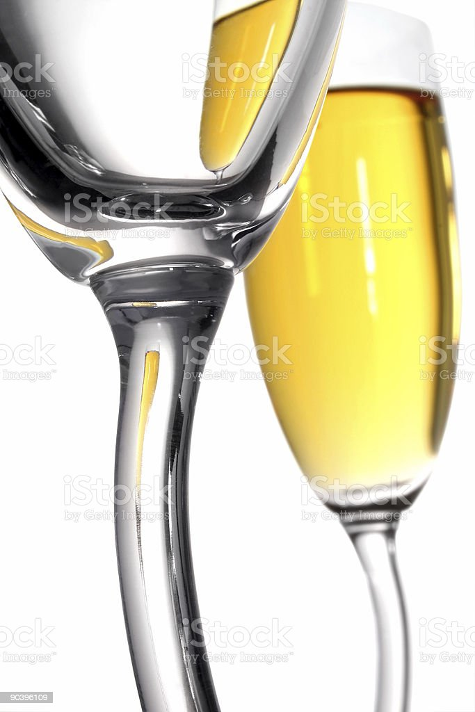 Champagne Abstract royalty-free stock photo