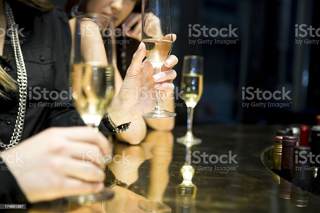 Champagne Bar royalty-free stock photo