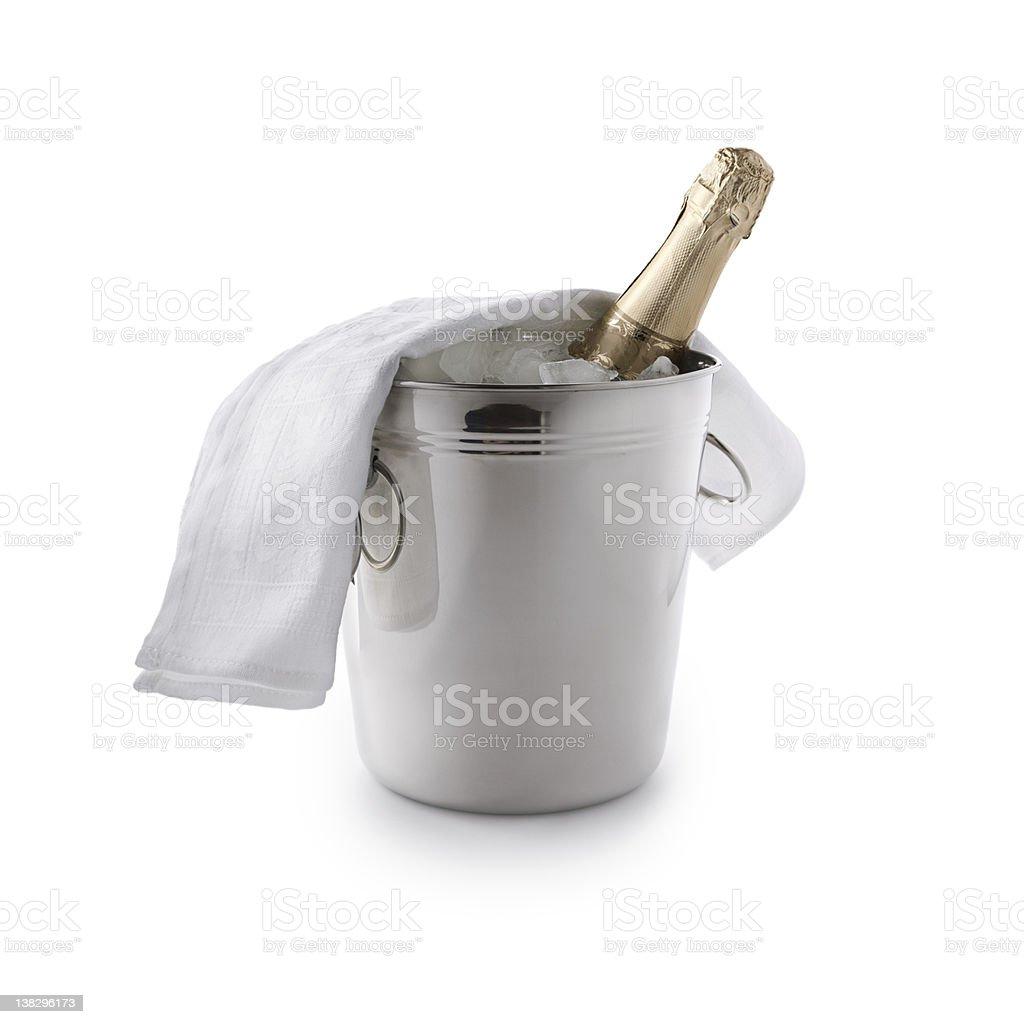 champagne bucket stock photo