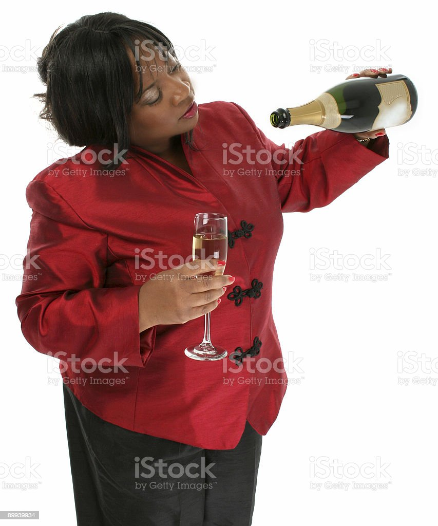 Champagne Celbration royalty-free stock photo
