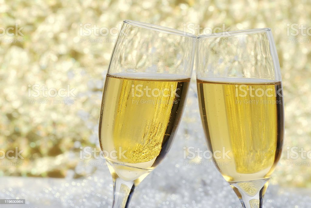 champagne celebration stock photo