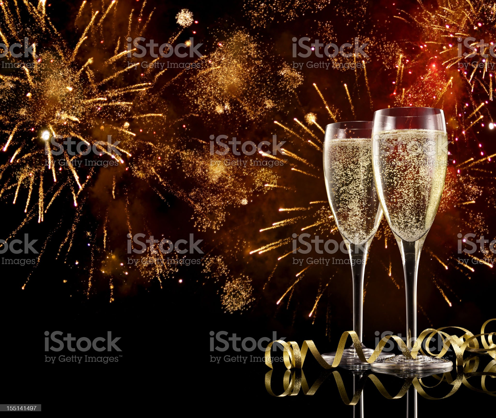 Champagne Celebration royalty-free stock photo