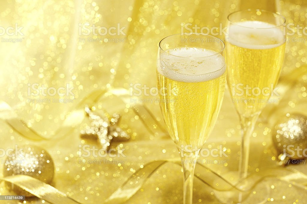 Champagne Celebration royalty-free stock photo