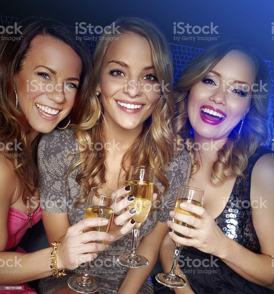 Champagne celebrations royalty-free stock photo