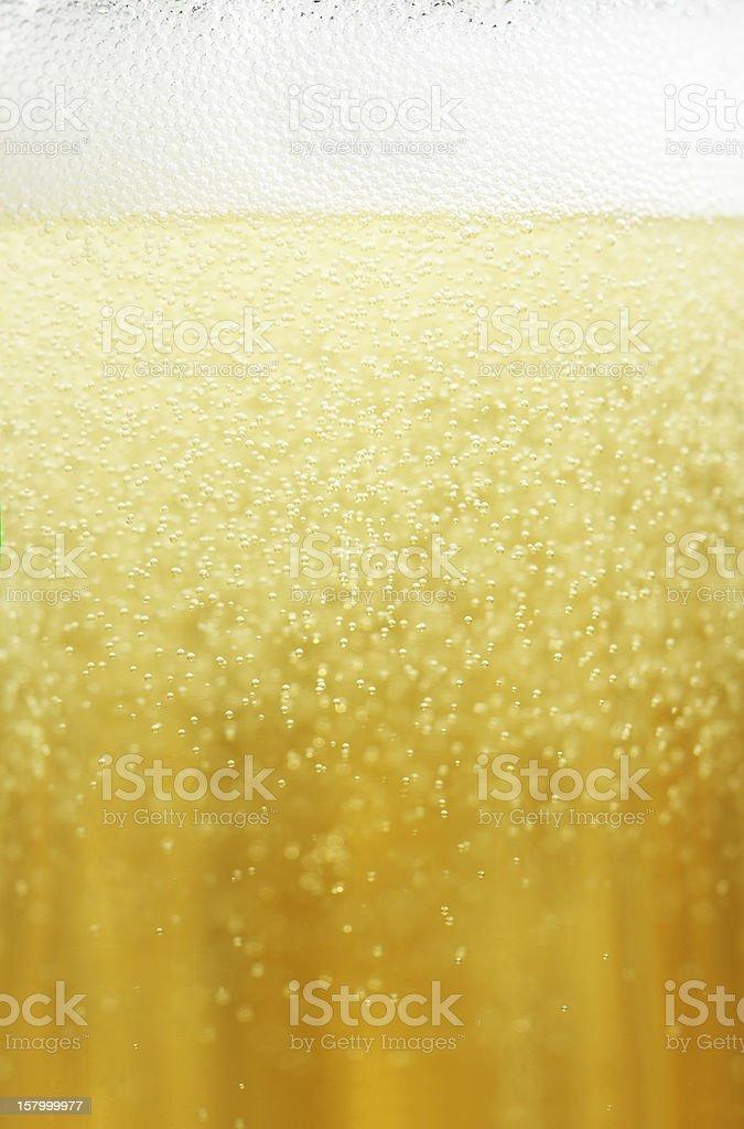 Champagne closeup stock photo