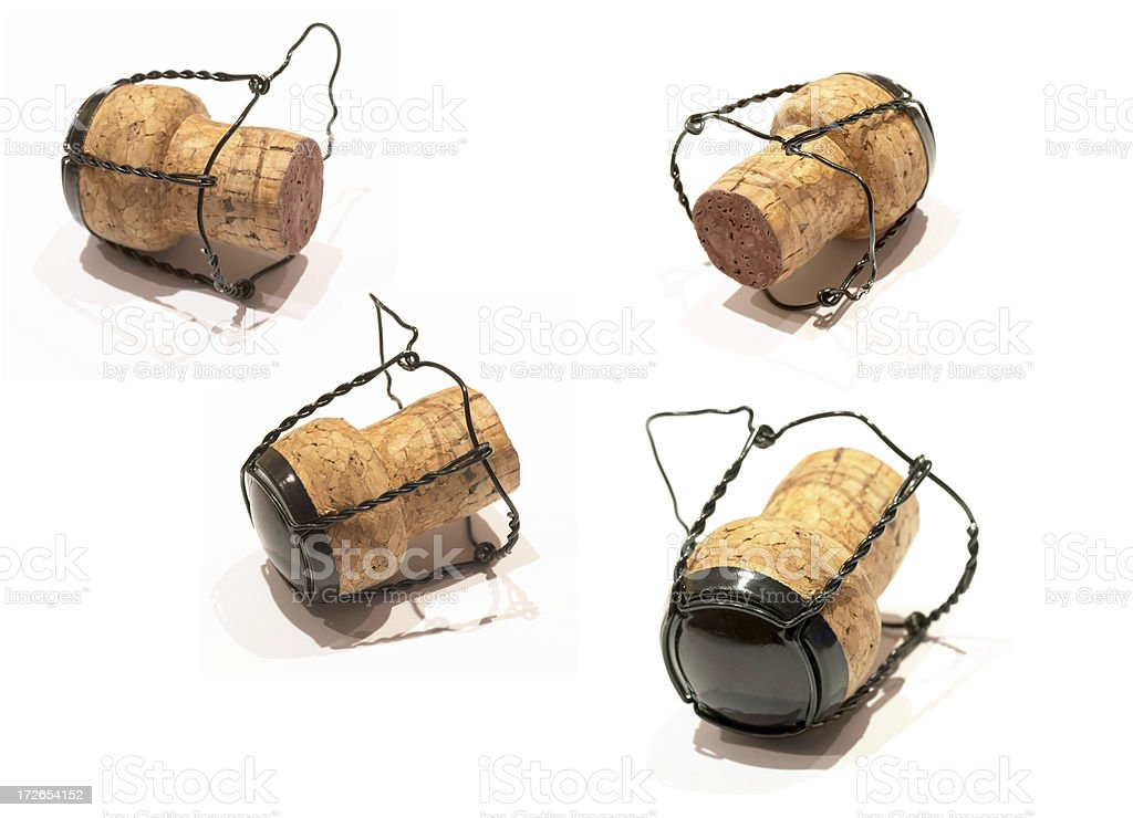 Champagne Cork, Celebration royalty-free stock photo