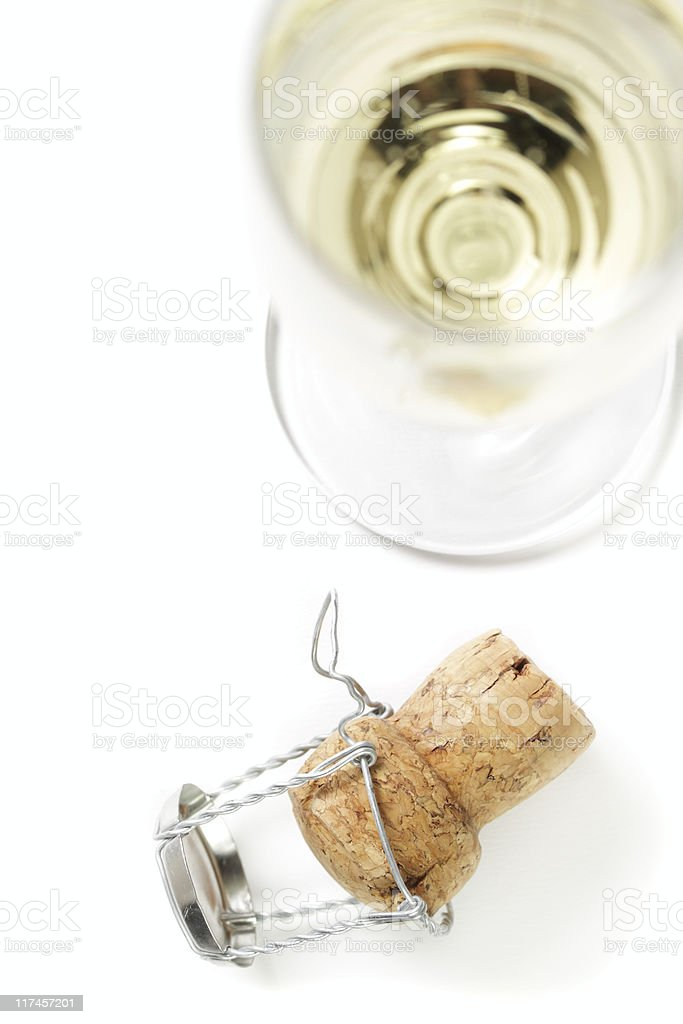 Champagne cork. royalty-free stock photo