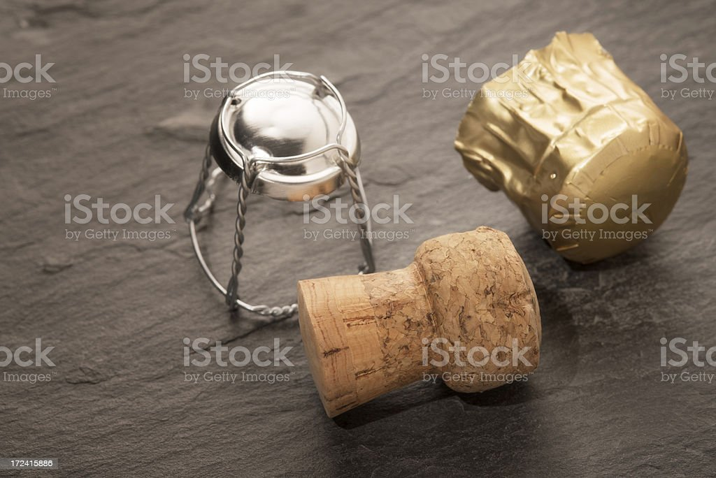 Champagne cork royalty-free stock photo