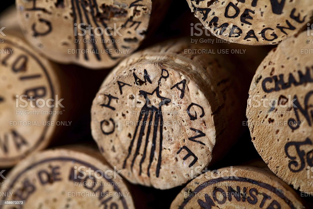 Champagne corks royalty-free stock photo