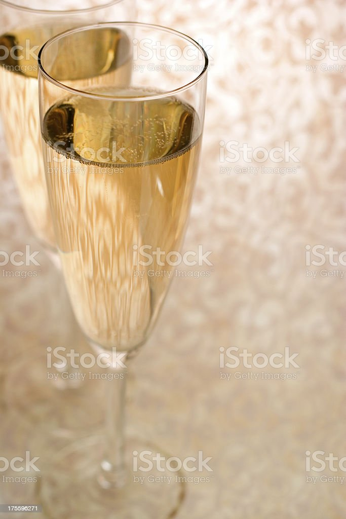 Champagne Dreams royalty-free stock photo