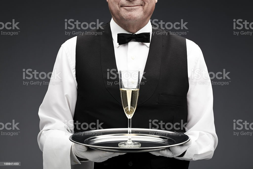 champagne flute royalty-free stock photo