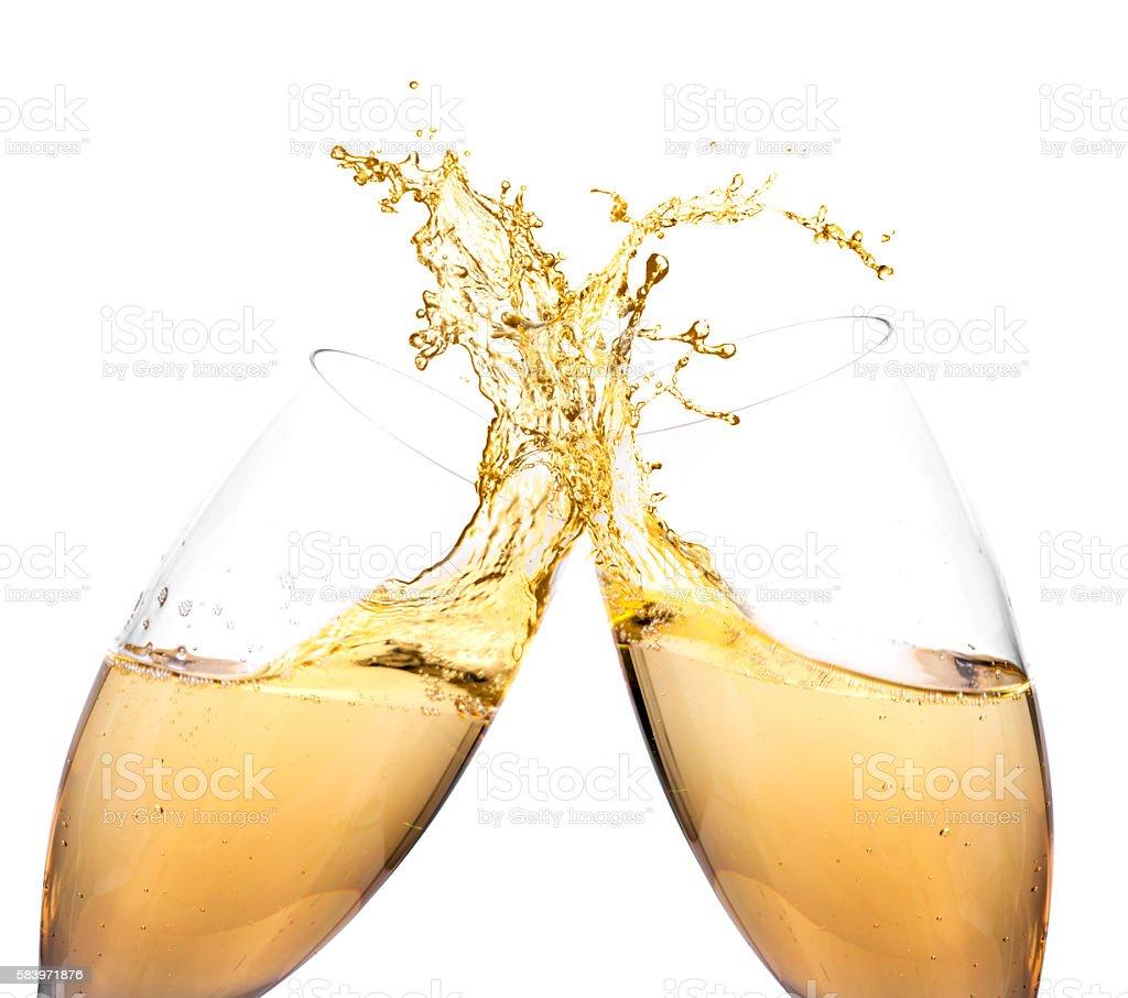 Champagne glass Celebration stock photo