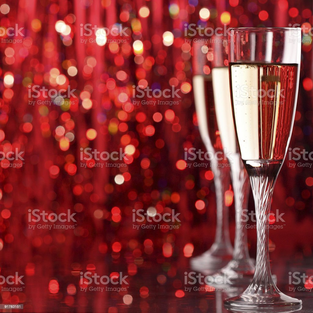 champagne glass royalty-free stock photo