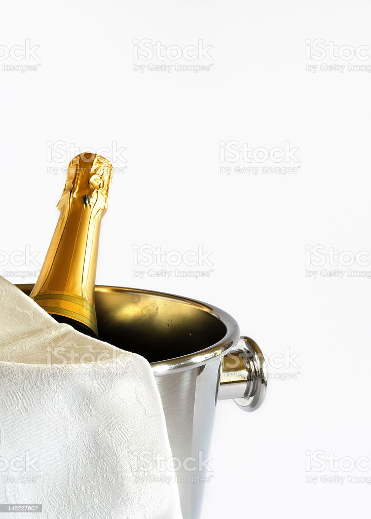 Champagne is ready! royalty-free stock photo