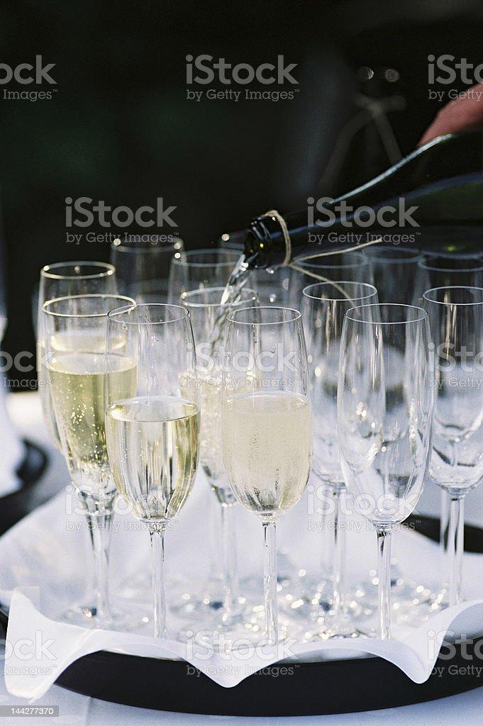 Champanhe foto royalty-free