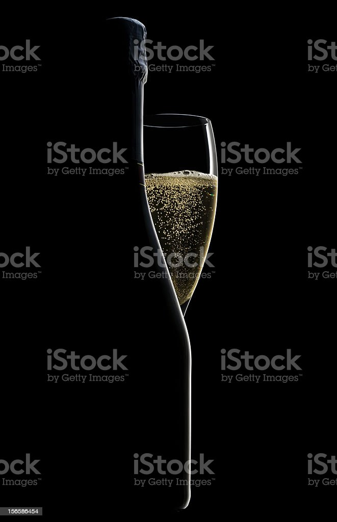 Champagne ! stock photo