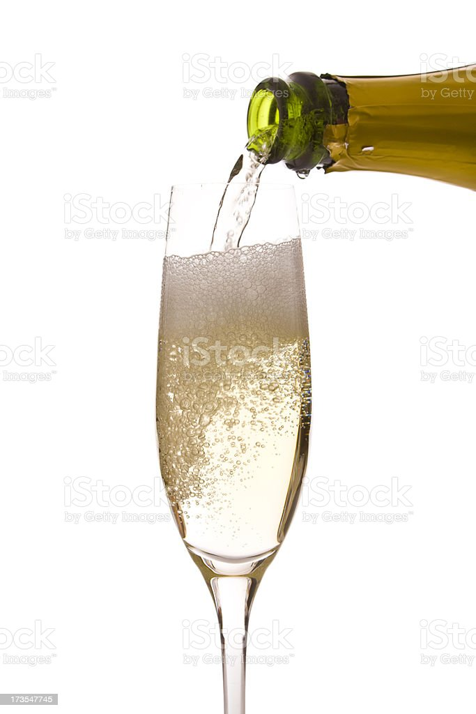 Champagne royalty-free stock photo