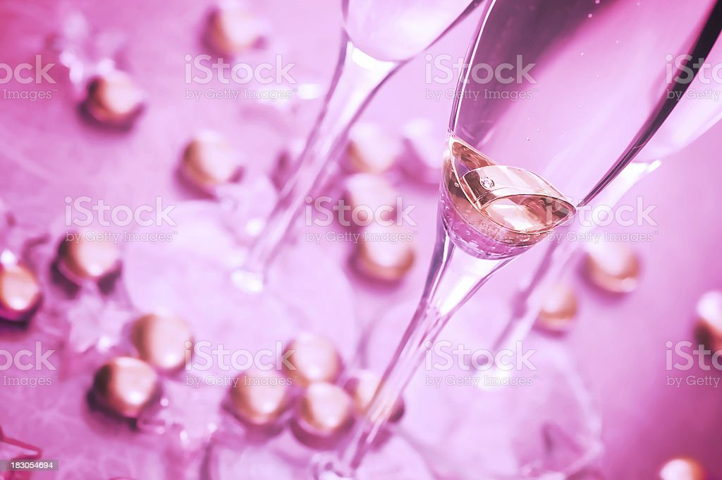 Champagne. royalty-free stock photo