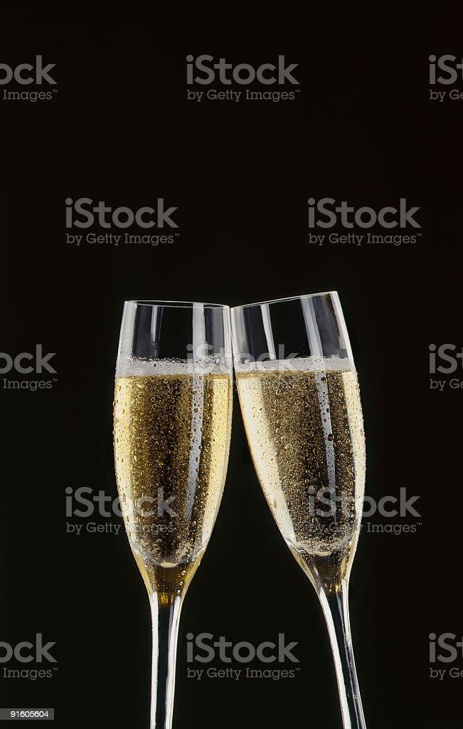 Champagne stock photo