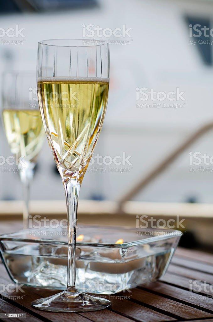 Champagne Romance royalty-free stock photo