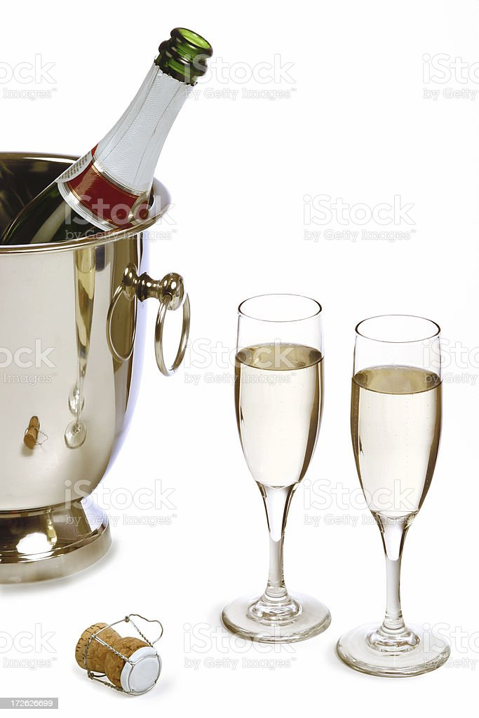 Champagne Series royalty-free stock photo