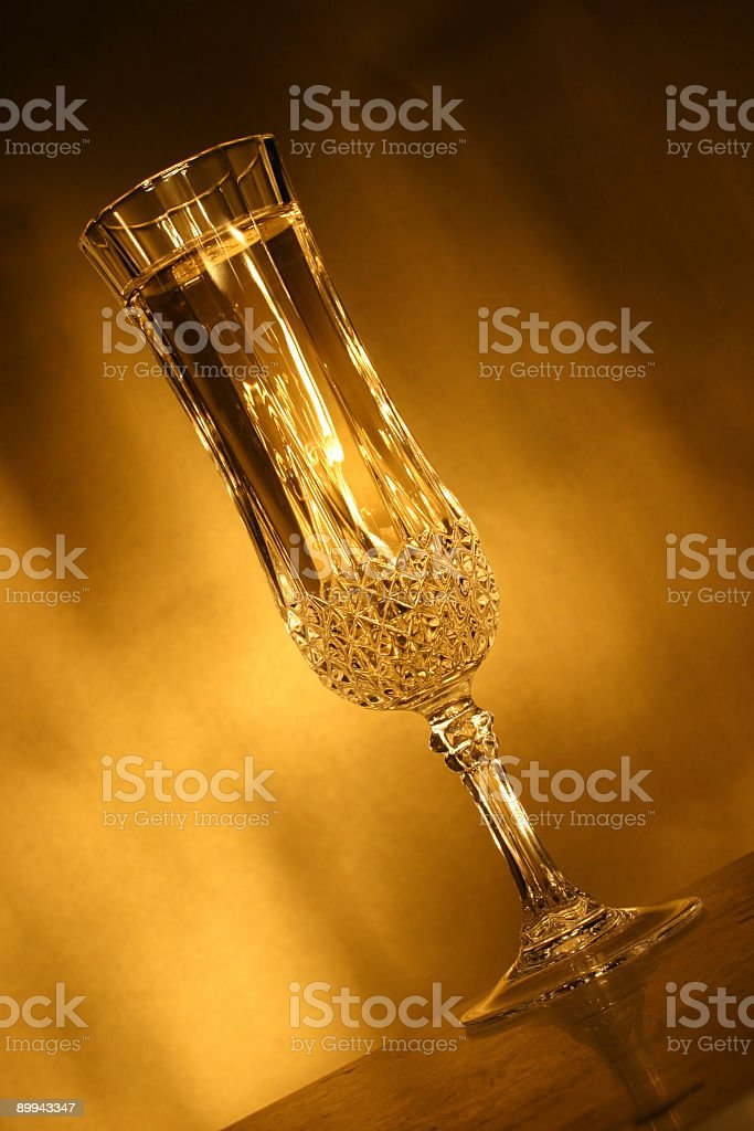 Champagne Sparkly stock photo