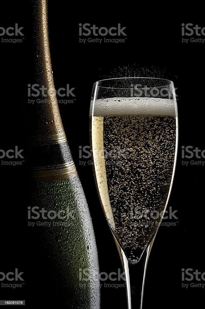 Champagne Still Life royalty-free stock photo
