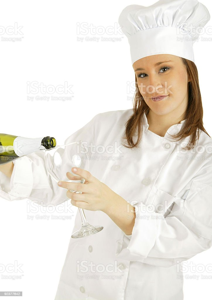 Champagne Time royalty-free stock photo