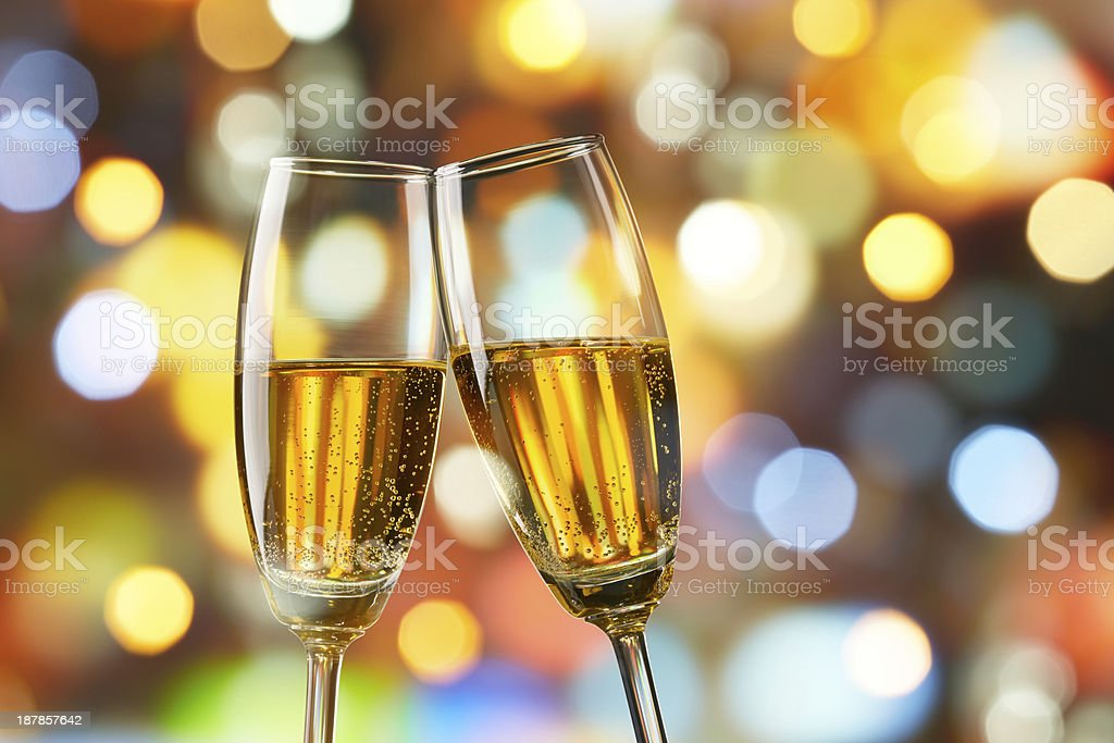champagne toast royalty-free stock photo