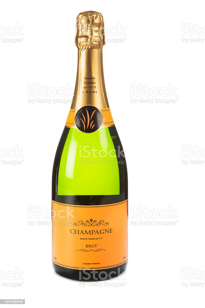 Champagne XXL royalty-free stock photo
