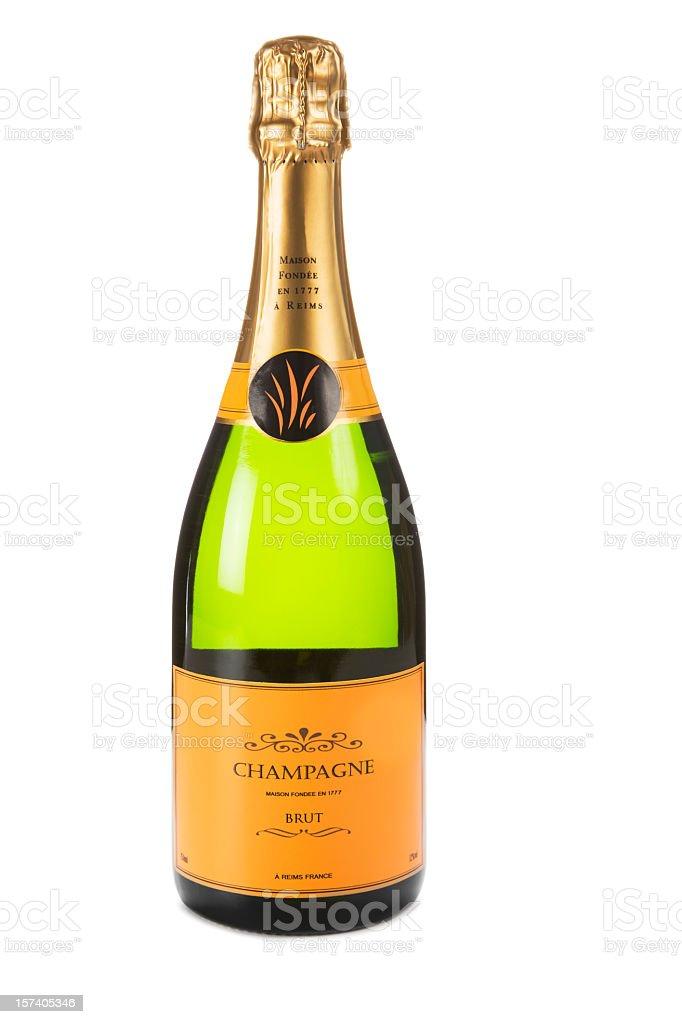 Champagne XXL stock photo