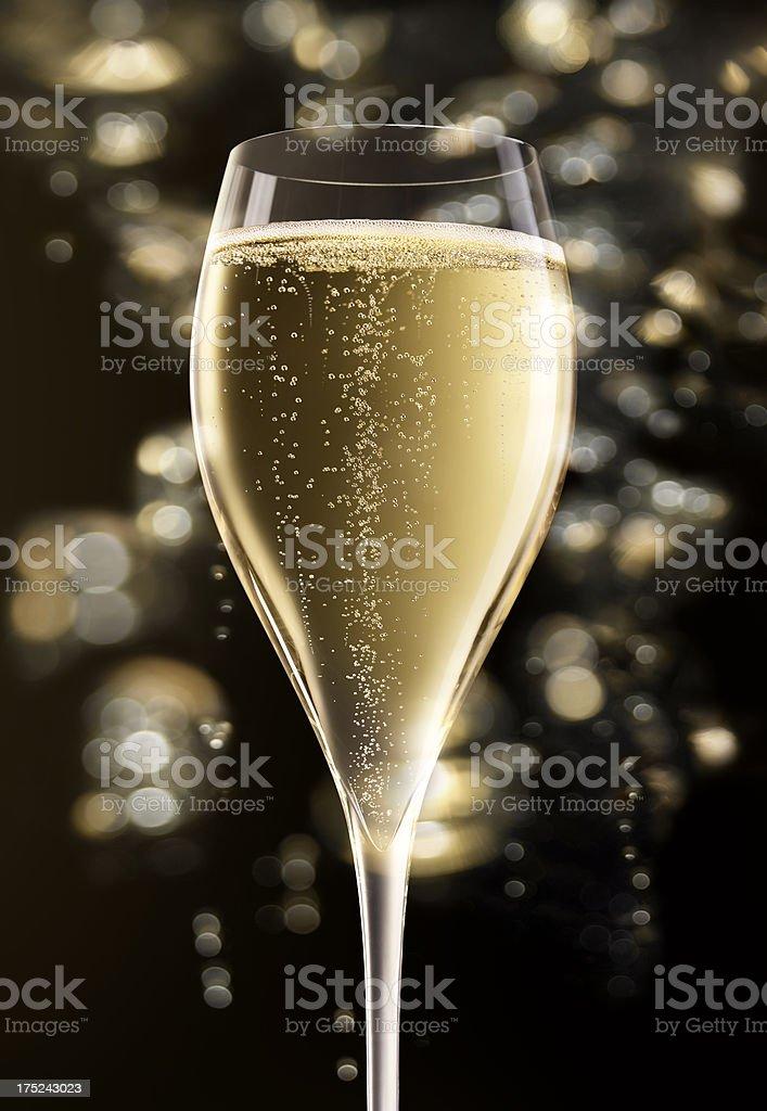 Champagne XXXL royalty-free stock photo