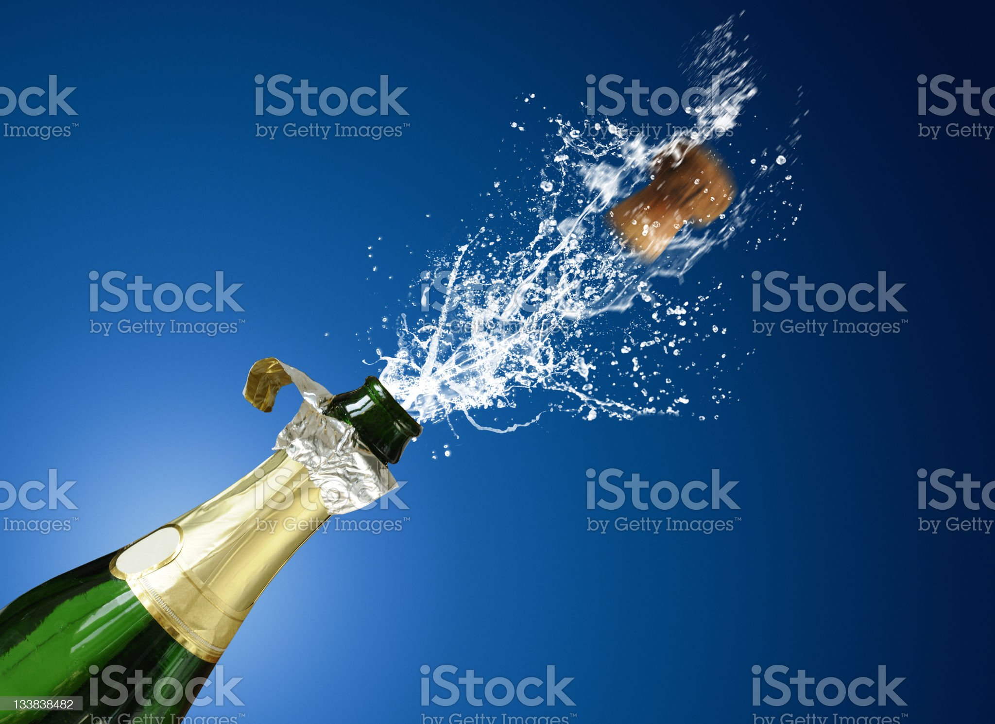 champaign royalty-free stock photo