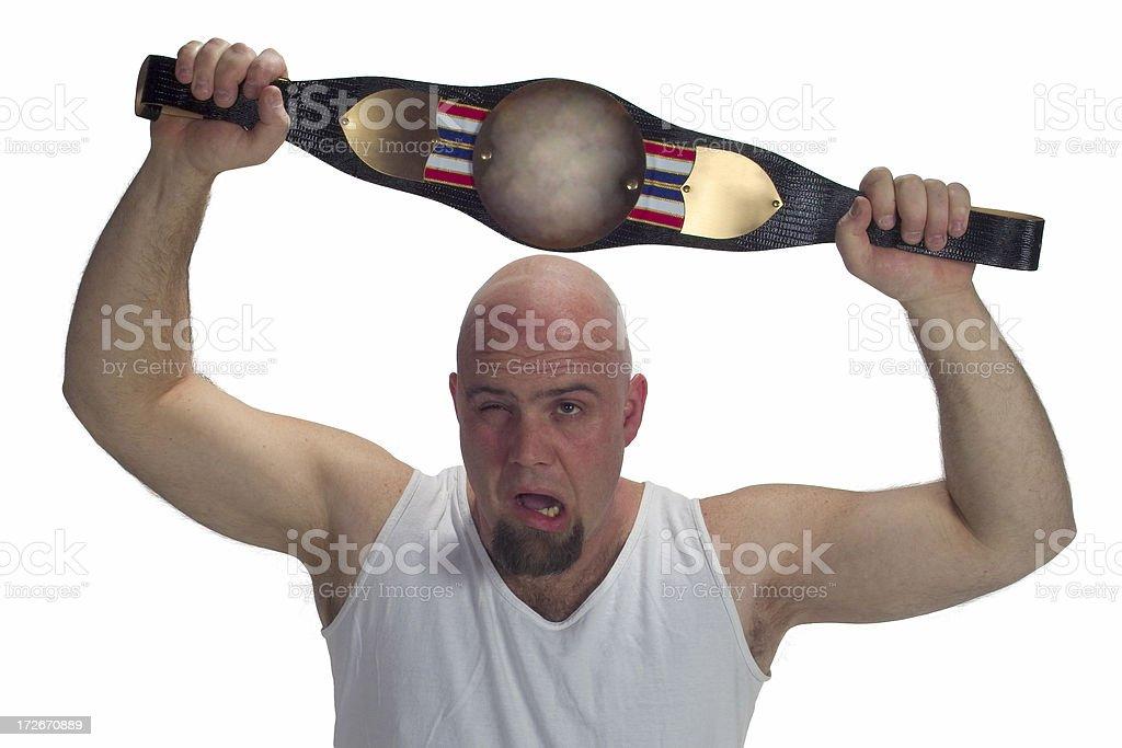 Champion 3 royalty-free stock photo
