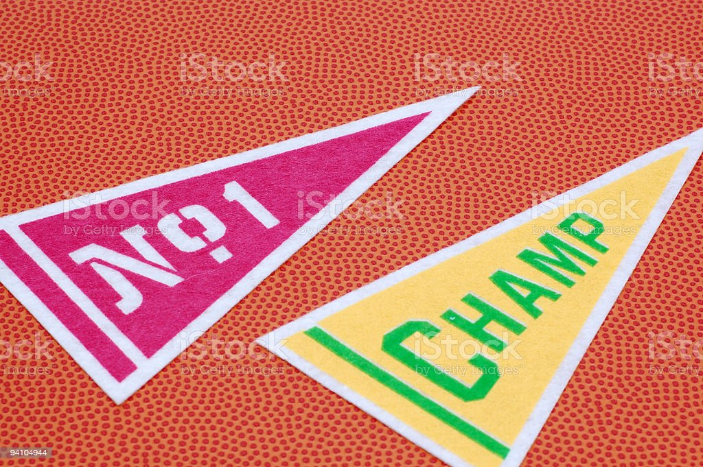 Champion Flags royalty-free stock photo