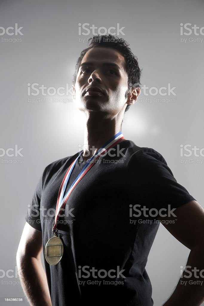 Champion royalty-free stock photo