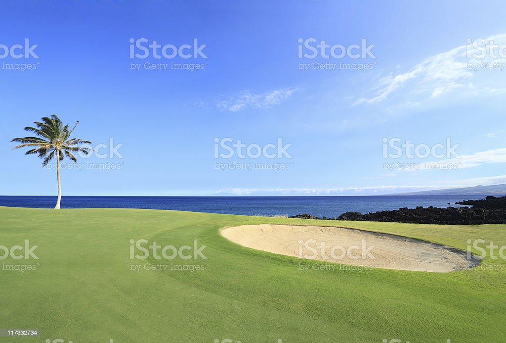 Champions Golf Course, Hawaii royalty-free stock photo