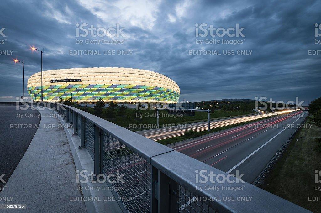 Champions League Final Munich 2012 stock photo