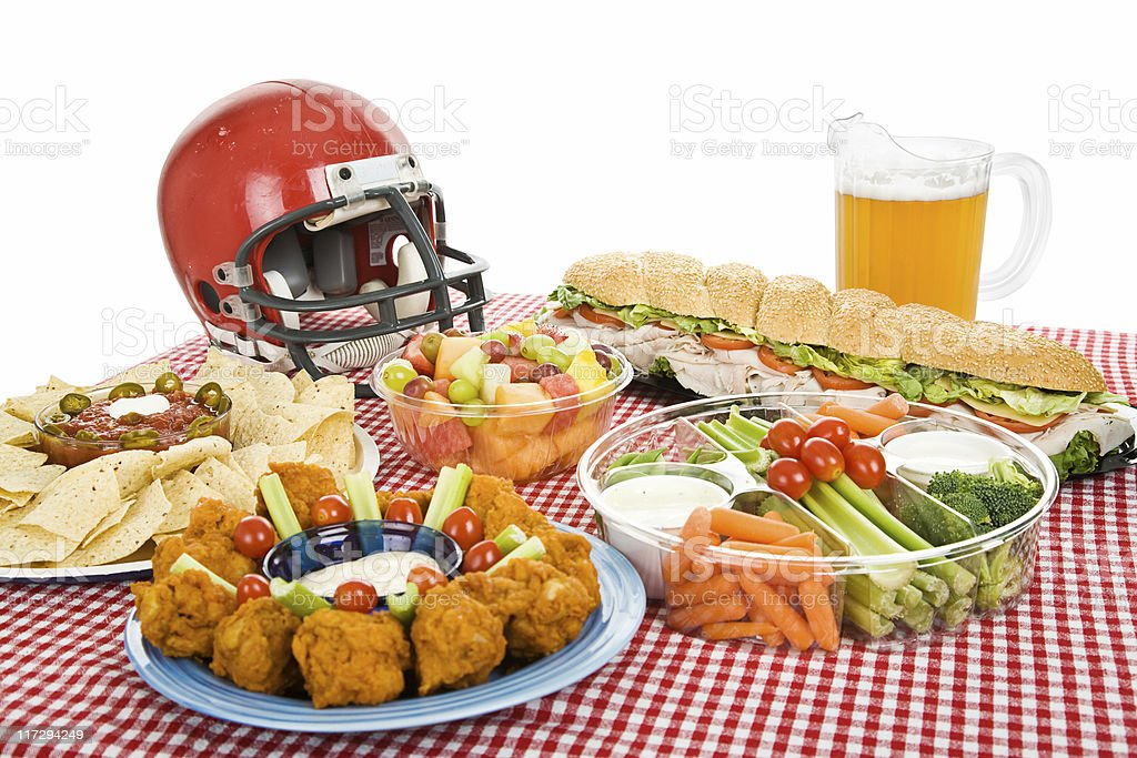 Super Bowl Party Food stock photo