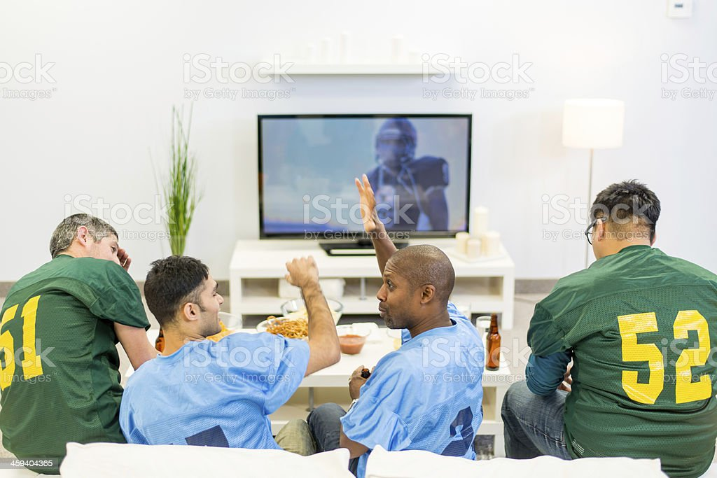 Superbowl Party royalty-free stock photo