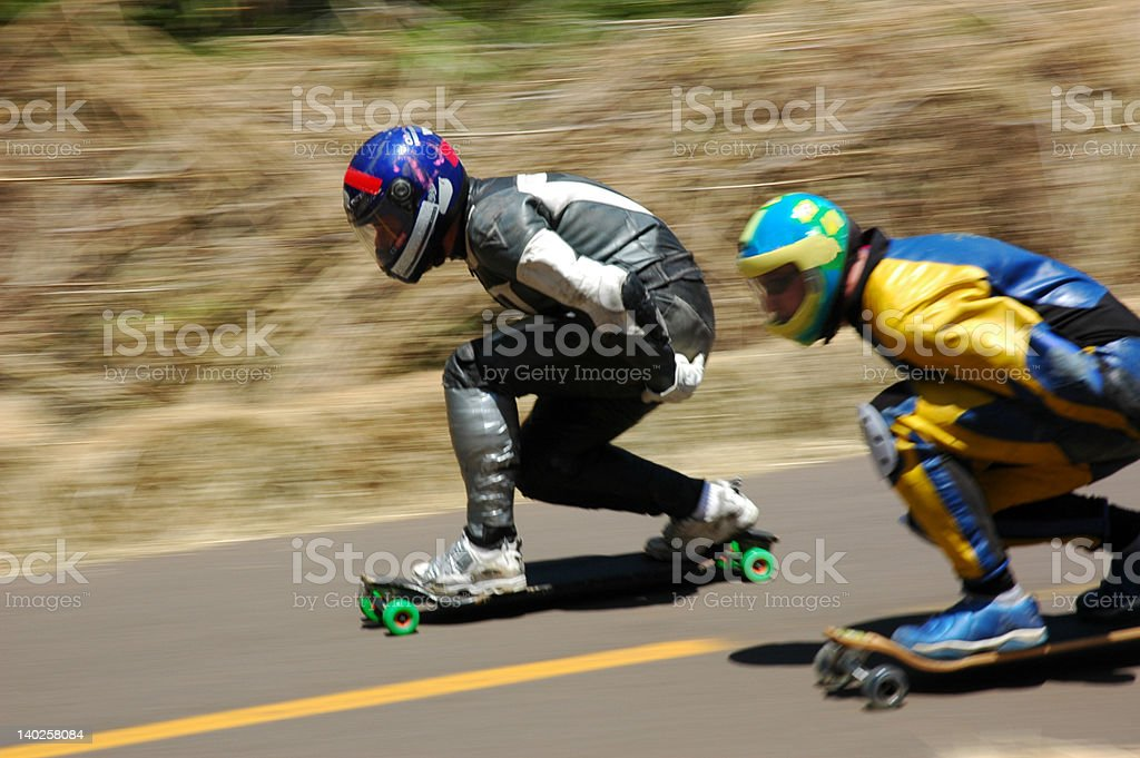championship of Speed skating royalty-free stock photo