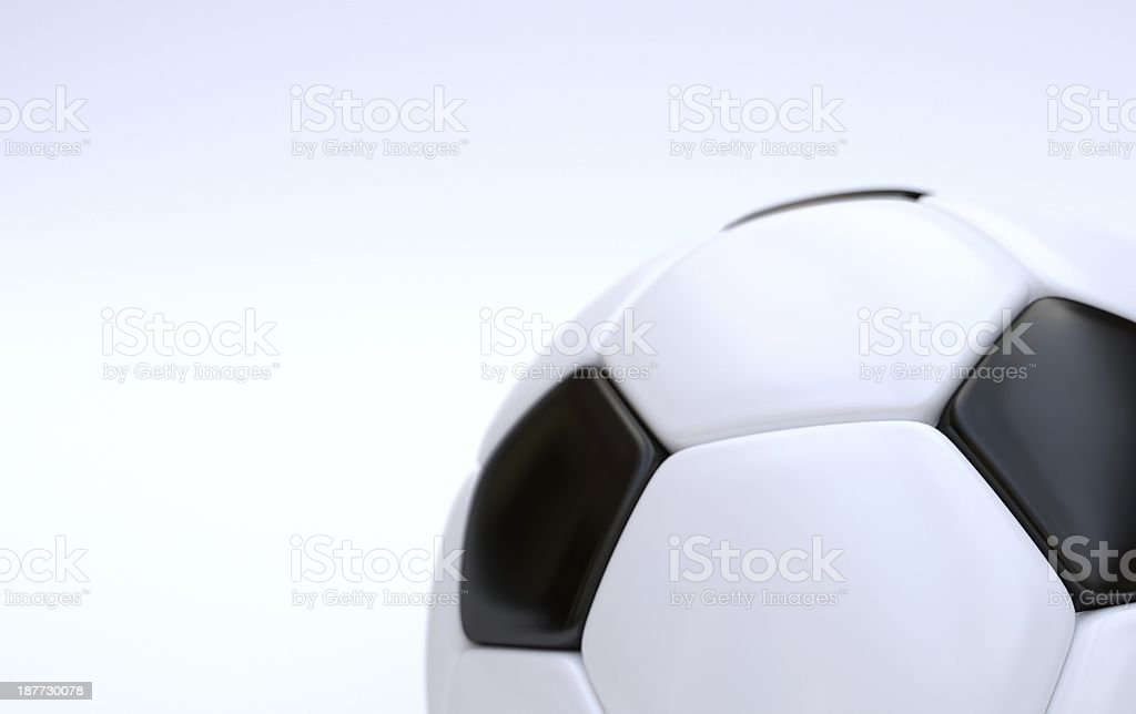 Championship soccer ball royalty-free stock photo
